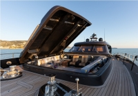 """Design me something that Batman would drive!"" - Roberto Cavalli to yacht designer Tommaso Spadolini"